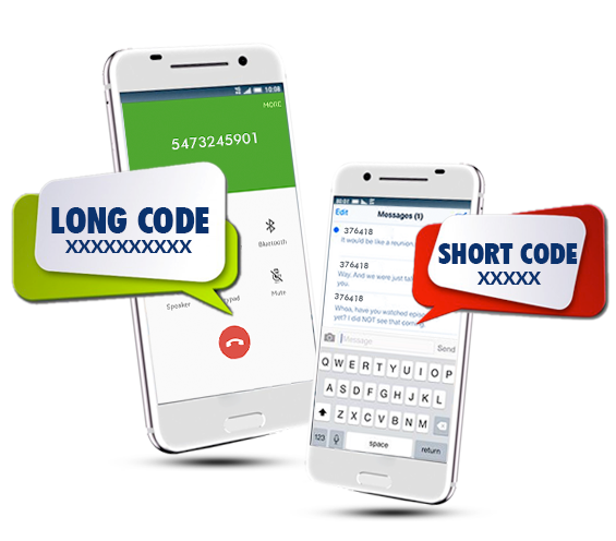 Short-code-&-long-code